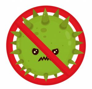 Einwegmasken gegen Virus